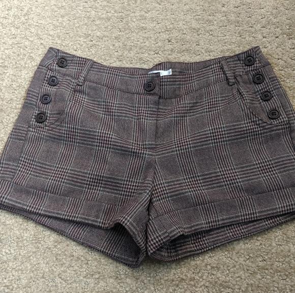 Have & Have Pants - Women's Plaid shorts